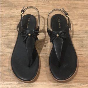 Black Cole Haan Sandals size 9